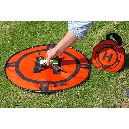 hoodman drone landing pad