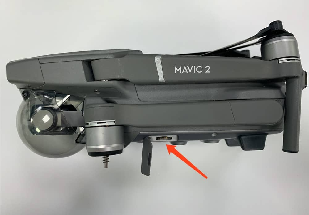 Mavic 2 pro/zoom sd card slot