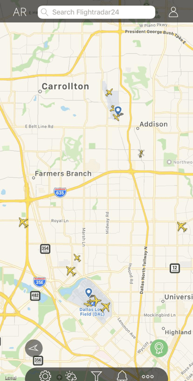 map of finding where to fly a drone