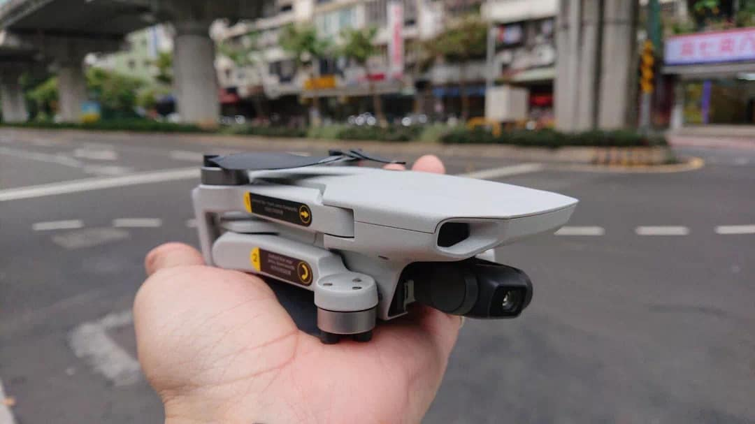 dji mavic mini weight