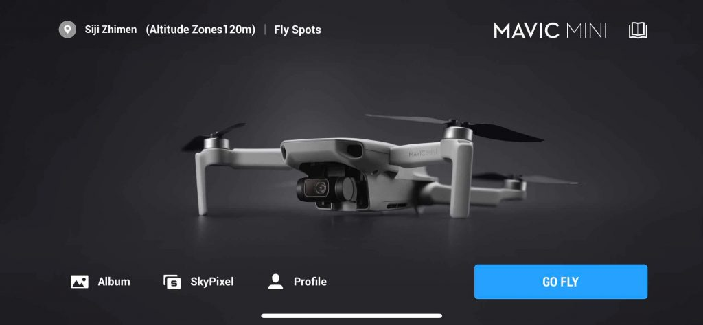 dji fly home page
