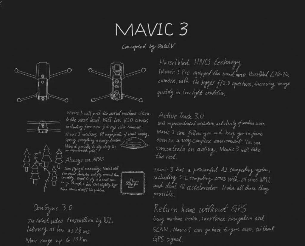 mavic 3 rumors, leaks and release date