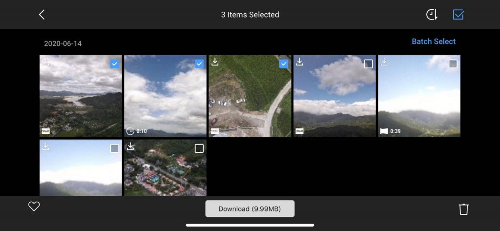 download mavic air 2 videos