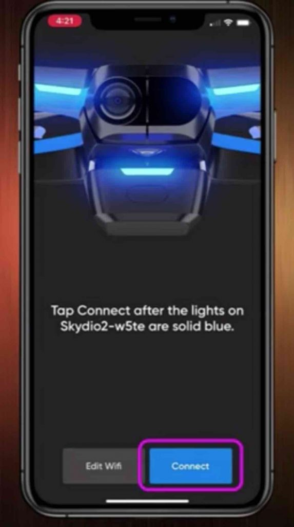 connect skydio 2
