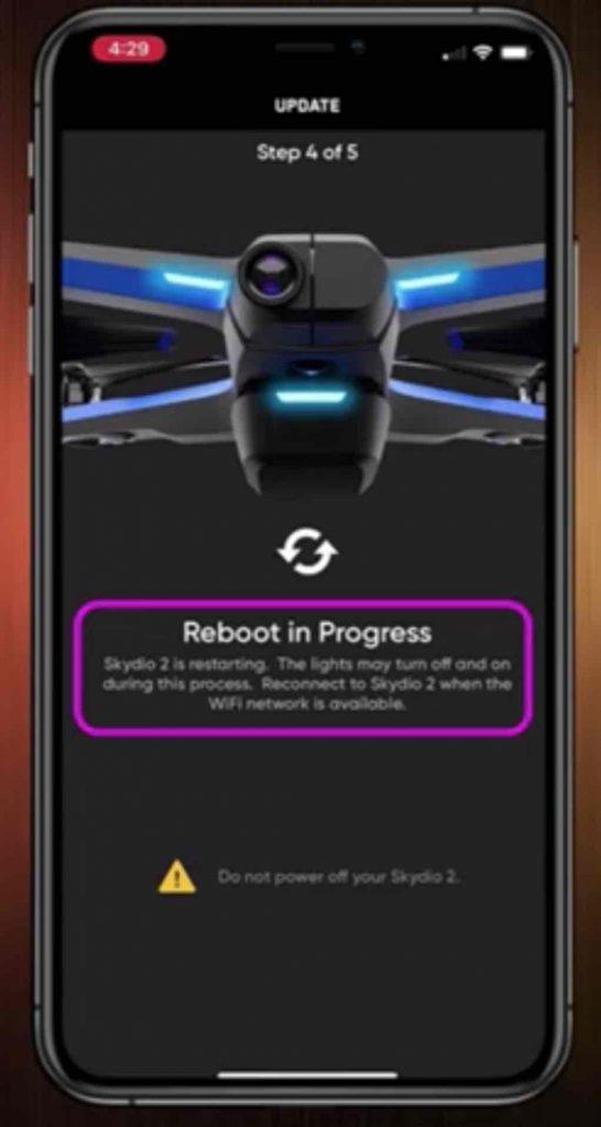 skydio 2 reboot