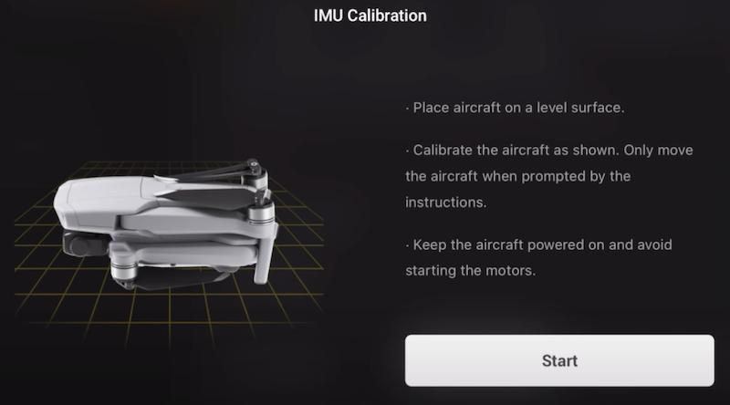 mavic air 2 imu calibration