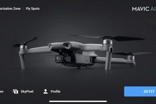 dji fly homepage